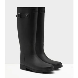 Hunter Original Refined Tall Matte Rain Boots